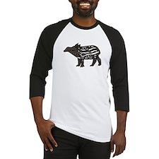 Funny Tapir Baseball Jersey