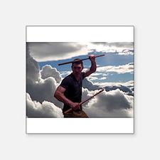 Escrima in the clouds Sticker