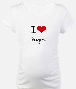 I Love Pages Shirt
