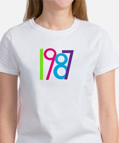 1987 Nineteen Eighty Seven Women's T-Shirt
