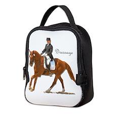 Dressage Horse-2 Neoprene Lunch Bag