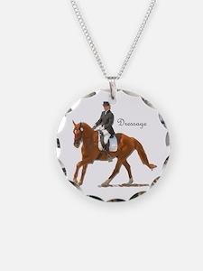 Dressage Horse-2 Necklace