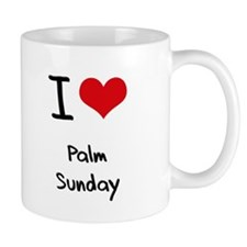I Love Palm Sunday Mug