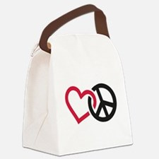 Cute Equality Canvas Lunch Bag