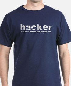 Hacker Navy Blue T-Shirt