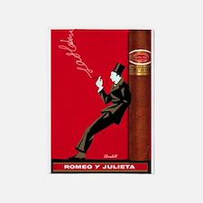 Cigar, Vintage Poster 5'x7'Area Rug