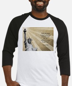 Thomas Paine Quote Baseball Jersey
