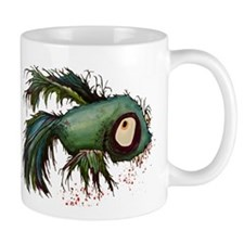 """ds"" the zombie betta fish Mug"