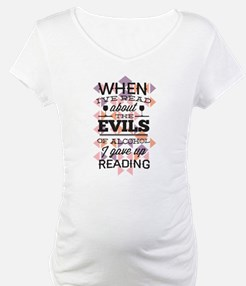 Evils of Alcohol Shirt