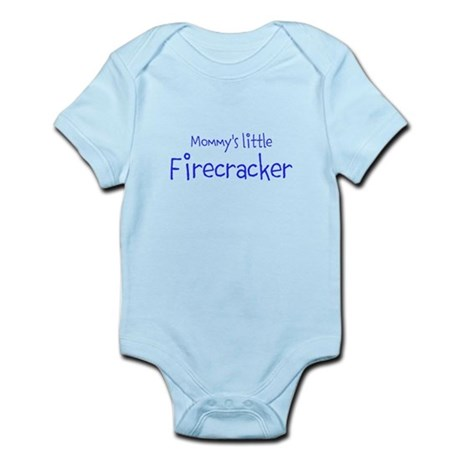 Mommys little Firecracker Body Suit