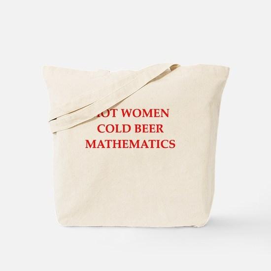 mathematics Tote Bag