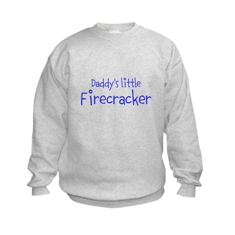 Daddys little Firecracker Sweatshirt