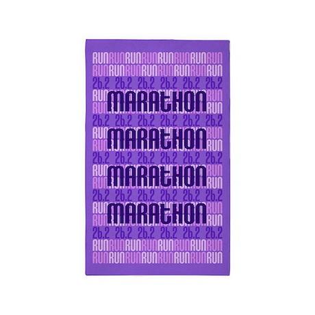 Marathon Run 3'x5' Area Rug