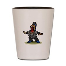 Umpire big mouth Safe Shot Glass