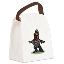 Umpire big mouth Safe Canvas Lunch Bag