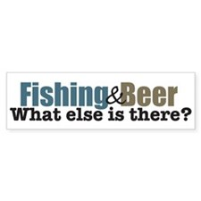 Fishing & Beer Bumper Bumper Stickers