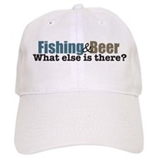 Fishing & Beer Baseball Cap