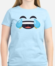 Cry Laughing Emoji Face T-Shirt