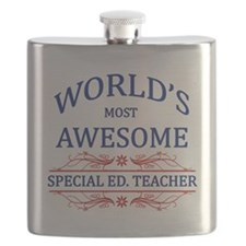 World's Most Awesome Special Ed. Teacher Flask