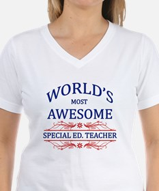 World's Most Awesome Special Ed. Teacher Shirt