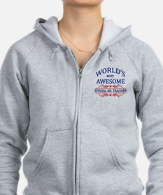 World's Most Awesome Special Ed. Teacher Zip Hoodie