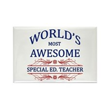 World's Most Awesome Special Ed. Teacher Rectangle
