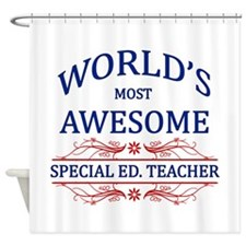 World's Most Awesome Special Ed. Teacher Shower Cu