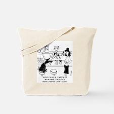 Dog Barista Tote Bag