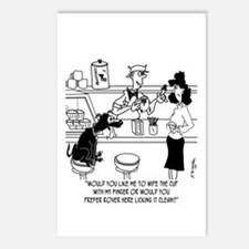 Dog Barista Postcards (Package of 8)