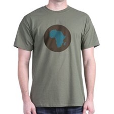 Africa - Black T-Shirt