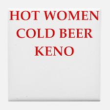 KENO Tile Coaster
