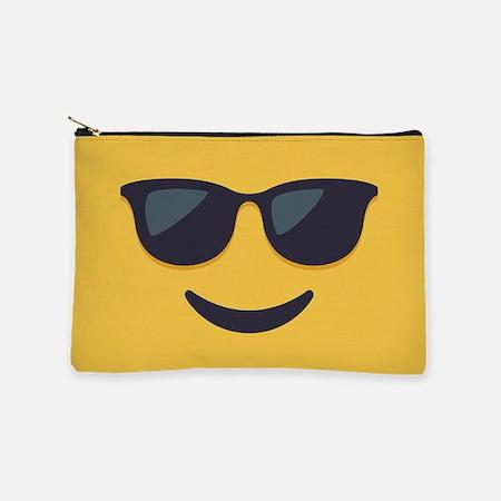 Sunglasses Emoji Face Makeup Bag