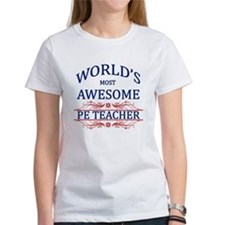 World's Most Awesome PE Teacher Tee