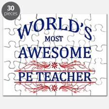 World's Most Awesome PE Teacher Puzzle