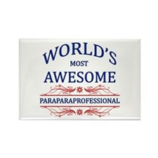 World's Most Awesome Paraprofessional Rectangle Ma