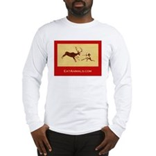 EatAnimals.com Long Sleeve T-Shirt