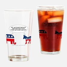 Authoritarians Drinking Glass