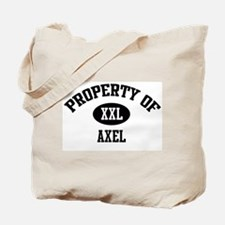Property of Axel Tote Bag
