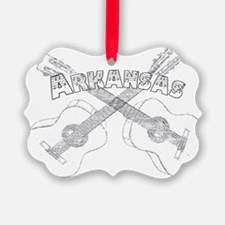 Arkansas Guitars Ornament