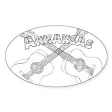 Arkansas Guitars Decal