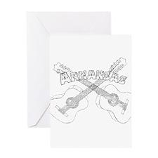 Arkansas Guitars Greeting Card