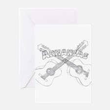 Arkansas Guitars Greeting Card