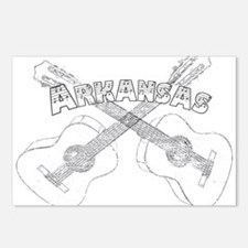 Arkansas Guitars Postcards (Package of 8)