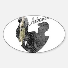Arkansas Fishing Decal