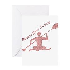 Buffalo River Canoe Greeting Card