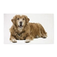 Golden Retriever 3'x5' Area Rug