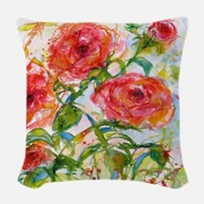 Flower #11 Woven Throw Pillow