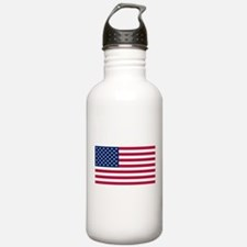 American Flag Sports Water Bottle
