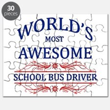 World's Most Awesome School Bus Driver Puzzle