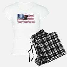 U.S.A. With Flag & Eagle Pajamas